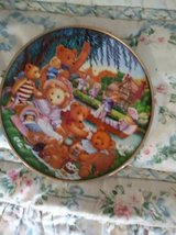 Teddy Bear Picnic plate in Beale AFB, California