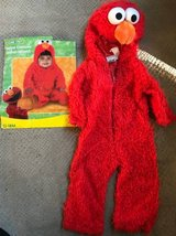 Elmo Costume 12-18M in Joliet, Illinois