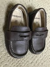 8c585993d3ac Pediped Boys Brown Leather Shoes - Size 8.5 in Naperville