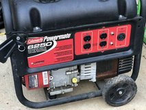 Coleman Powermate 6250 Generator - Preowned Less than 2 hours of use in Fort Campbell, Kentucky