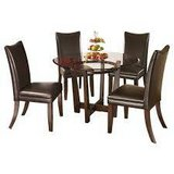 CHARRELL DINETTE SET W/BROWN CHAIRS in Schofield Barracks, Hawaii