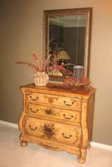 Nice 3 Drawer Wood Accent Chest - Dresser - Cabinet - Victorian in Naperville, Illinois