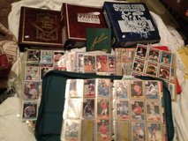 Giant Lot Sports cards Albums sheets sets etc in Fort Campbell, Kentucky