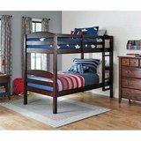 BHG Twin Over Twin Wood Bunk Bed (Mocha) - NEW! in Lockport, Illinois
