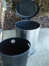 OVAL STAINLESS STEEL STEP GARBAGE CAN $35 in Joliet, Illinois