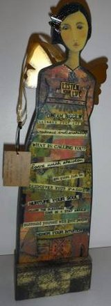 New! Kelly Rae Roberts Inspirational Listen Hanging / Freestanding Art in Westmont, Illinois