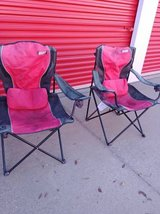 2 Coleman Camping Chairs in Beale AFB, California