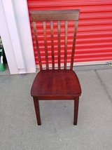 Vertical Slat Back Wood  Chair In Fairfield 6/16 if you want me to bring this in Sacramento, California