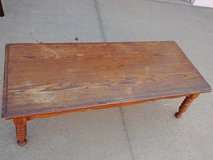 Solid Wood Coffee Table in Roseville, California