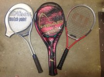 Tennis Rackets - 3 of them in Fort Belvoir, Virginia