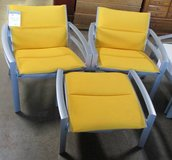 Merchandise Mart Floor Sample - Two Outdoor Arm Chairs with One Ottoman, 3 Piece Set in Bartlett, Illinois