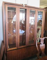 Mid-Century Modern Milo Baughman for Dillingham China Cabinet, MCM in Elgin, Illinois