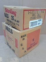 (2) Boxes of Nails - Apx 75# of nails in Wheaton, Illinois