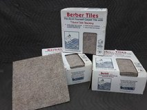 (60) Berber Carpet Tiles in Aurora, Illinois