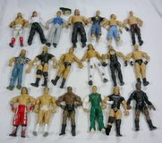19 Jakks Pacific Wrestling Figures in Schaumburg, Illinois