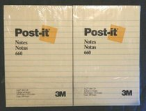 "24 Post-it Notes 4""×6"" Lined Pads in Naperville, Illinois"