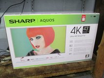 "BRAND NEW SHARP 43"" TV in Cherry Point, North Carolina"