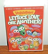 NEW Veggie Tales: Lettuce Love One Another 3 Great Stories DVD w Bonus Features in Joliet, Illinois