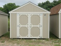 10x12 Tool Shed in Brenham, Texas