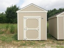 8x12 Utility Storage Shed in Brenham, Texas