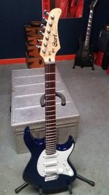 Cort G-200 Trans Blue Strat-style Electric Guitar in Joliet, Illinois