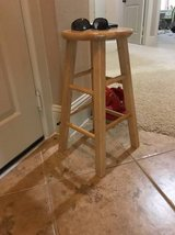 "Wood 24"" Bar Stool in Katy, Texas"