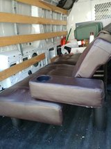 Full size Pleather Footon with cup holder In Fairfield on Saturday 6/16 in Sacramento, California