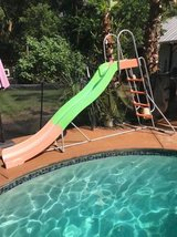 Pool slide in Beaufort, South Carolina
