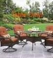 BHG Azalea Ridge Patio Dining Table(Brown Wicker) - Display Model! in Chicago, Illinois