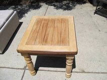 MASSIVE REDUCTION ---ALL WOOD END TABLE NEW in Orland Park, Illinois