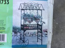 GARDEN CART with HANGING BASKETS - NEW IN THE BOX in Warner Robins, Georgia
