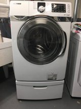 Samsung front loading washer with pedastal in Bolling AFB, DC