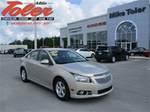 2011 Chevy Cruze 1LT Sedan-One Owner-Price Reduced!(Stk#14952a) in Cherry Point, North Carolina