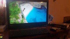 ****wow*** special price...all in one Lenovo i5 23 in computer/window 10/ touch screen/ fully lo... in Byron, Georgia