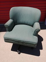 Wingback rolling chair in Beale AFB, California