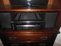 Sony ReceiverWith 2 Sony Speakers in Naperville, Illinois
