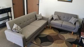New Dorris Fabric Sofa and Loveseat FREE DELIVERY in Camp Pendleton, California