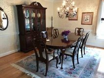 Dining Room Set (11 Pieces) - Solid Wood - Cherry Finish in Bolling AFB, DC