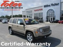 2016 Jeep Patriot Latitude SUV-Certified-Warranty(Stk#p2289) in Cherry Point, North Carolina