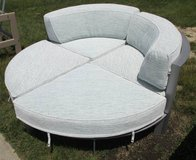 Four Piece Round Outdoor Sectional Sofa in Schaumburg, Illinois