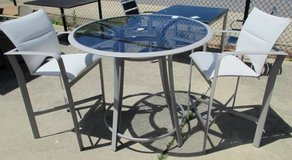 Pub Height Outdoor Table and 2 Chairs in Elgin, Illinois
