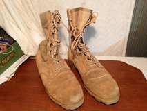 RO SEARCH Tan Military Boots Size 9W in Dover, Tennessee
