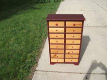 DRESSER VERY LOW PROFILE HAS 16 DRAWERS,MINT MUST SEE PRICED TO SELL in Naperville, Illinois