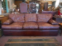Brown leather Sofa in Naperville, Illinois