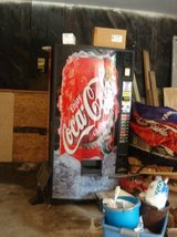 "VINTAGE COCA-COLA VENDING MACHINE (SOLD ""as is"") in Joliet, Illinois"