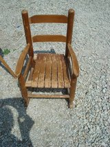 vintage child's rocker (as is) in Joliet, Illinois