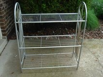 metal shelf (can be repainted) or used as shown in Joliet, Illinois