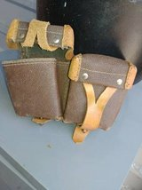 Vintage Leather Ammo Pouches in Travis AFB, California