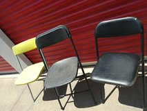 3 folding chairs in Beale AFB, California