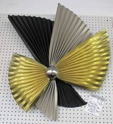 1991 Curtis Jere Fan or Pinwheel Wall Sculpture in Bolingbrook, Illinois